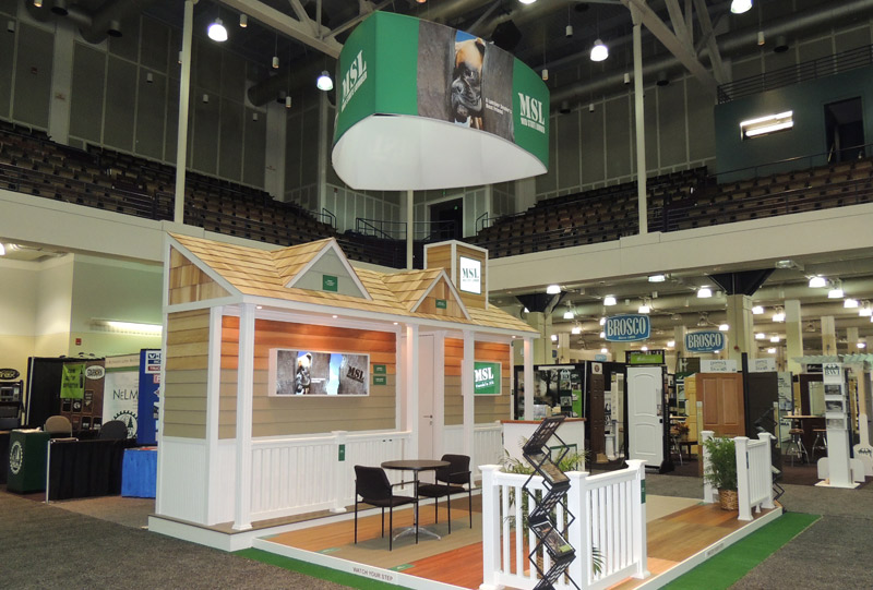 Southeast Exhibits Mid-State-Lumber Home