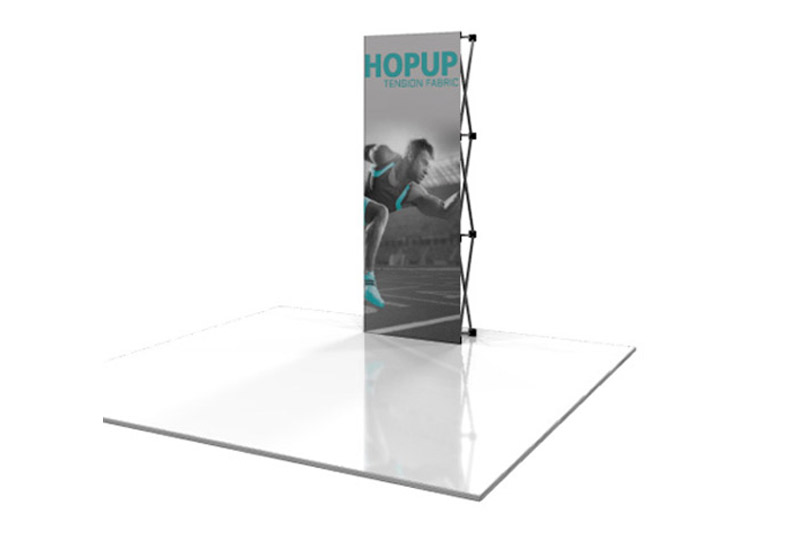 Southeast Exhibits 1x3 Portable Displays