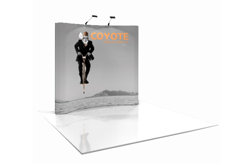 Southeast Exhibits 3x3-Coyote Portable Displays