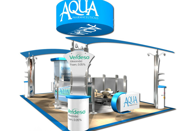 Southeast Exhibits Aqua-Pharmaceuticals Custom Exhibits