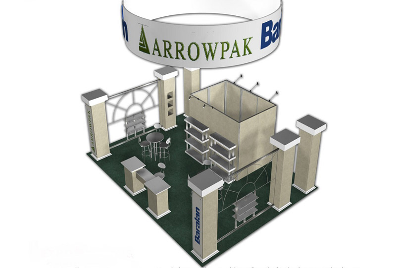 Southeast Exhibits Arrowpak Custom Exhibits