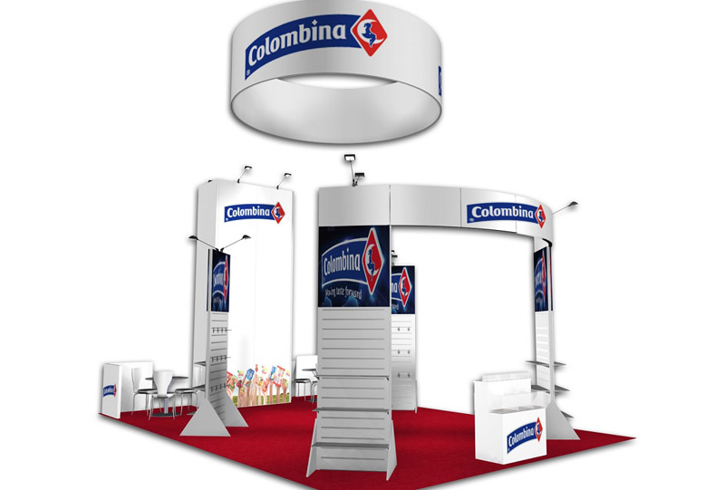 Southeast Exhibits Colombina Rental Exhibits