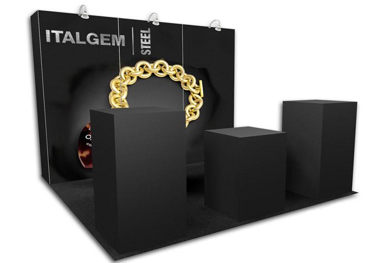 Southeast Exhibits Italgem-Steel Rental Exhibits