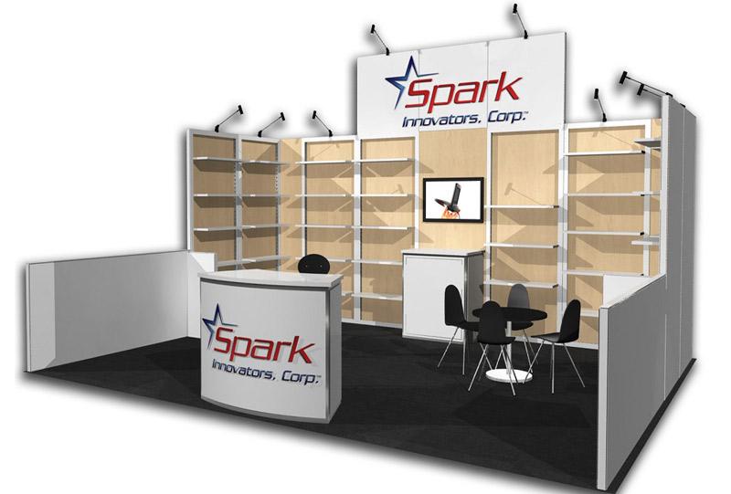 Southeast Exhibits Spark-Innovators Rental Exhibits