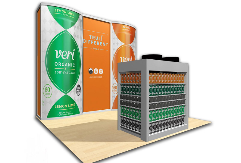 Southeast Exhibits Veri-Soda Custom Exhibits