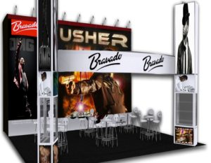 Southeast Exhibits portfolio-booth-examples_2-300x233 Creating the Ultimate Trade Show Experience with Exhibit Staging